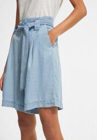 comma casual identity - Denim shorts - blue - 3