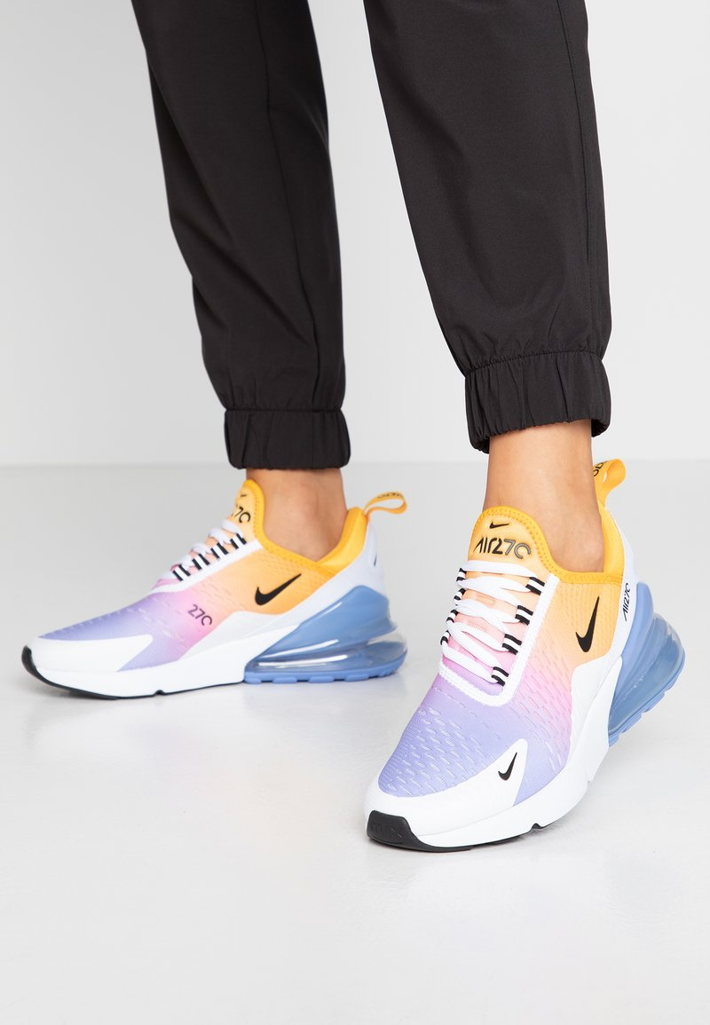 Nike Sportswear - AIR MAX 270 - Trainers - university gold/black/university blue/psychic pink/white/football grey