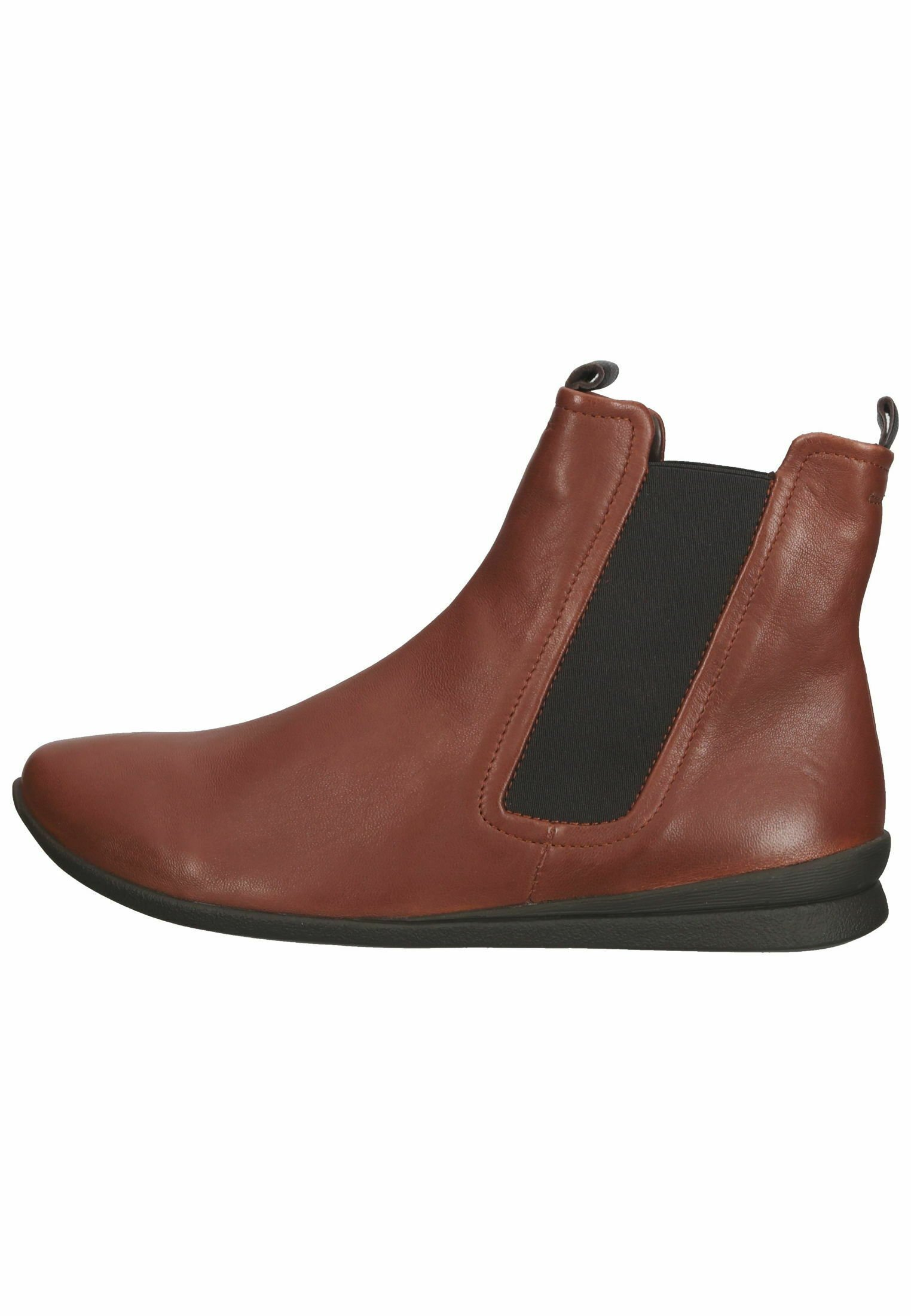 Damen Ankle Boot - kastanie/kombi