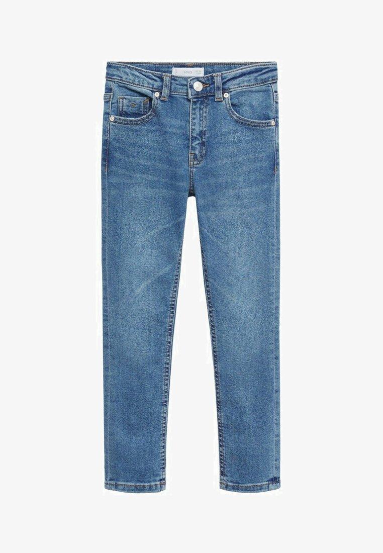 Mango - Jeans Skinny Fit - middenblauw