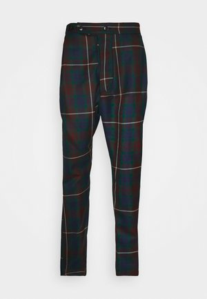 ALCOHOLIC TROUSERS - Trousers - brown