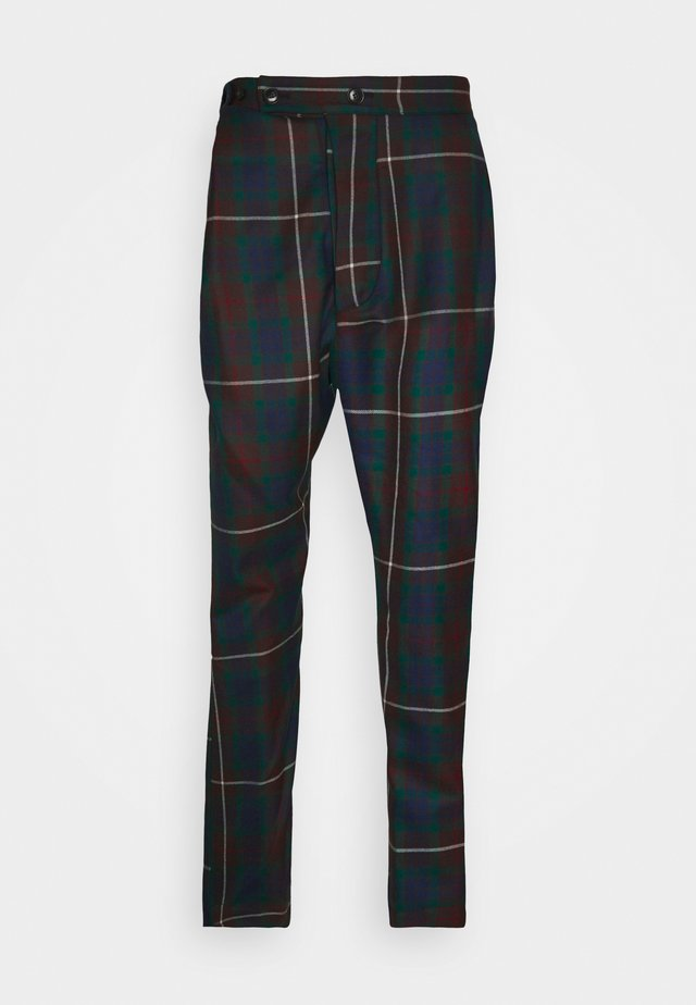 ALCOHOLIC TROUSERS - Kangashousut - brown