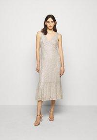 Lauren Ralph Lauren - TULIP DRESS - Společenské šaty - sparkling champagner - 1