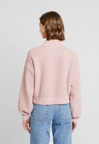 Hollister Co. - MATTE MOCK - Pullover - light pink - 2