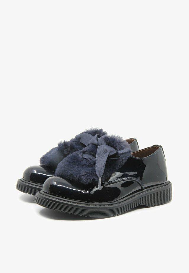 Scarpe senza lacci - azul marino