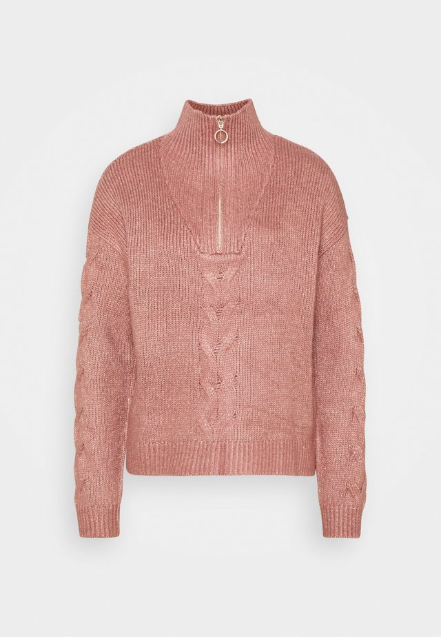 CREMALLERA - Svetr - light pink