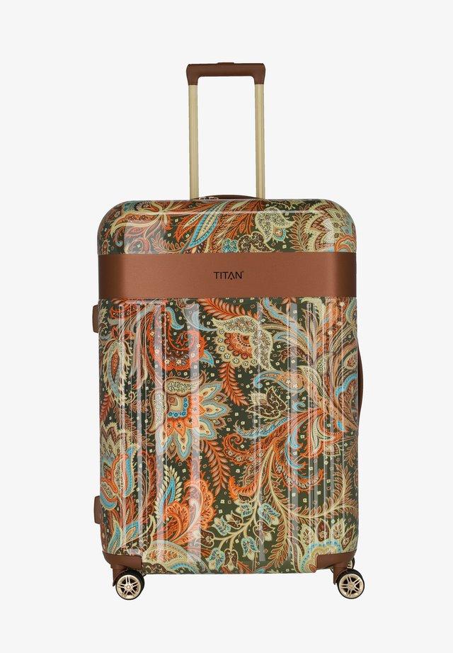 SPOTLIGHT FLASH - Valise à roulettes - paisley bronze