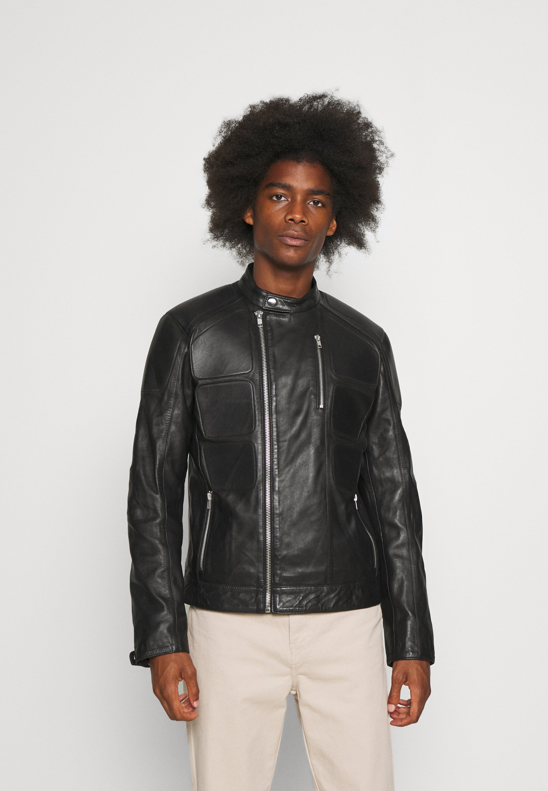 Men COUTURE - Leather jacket