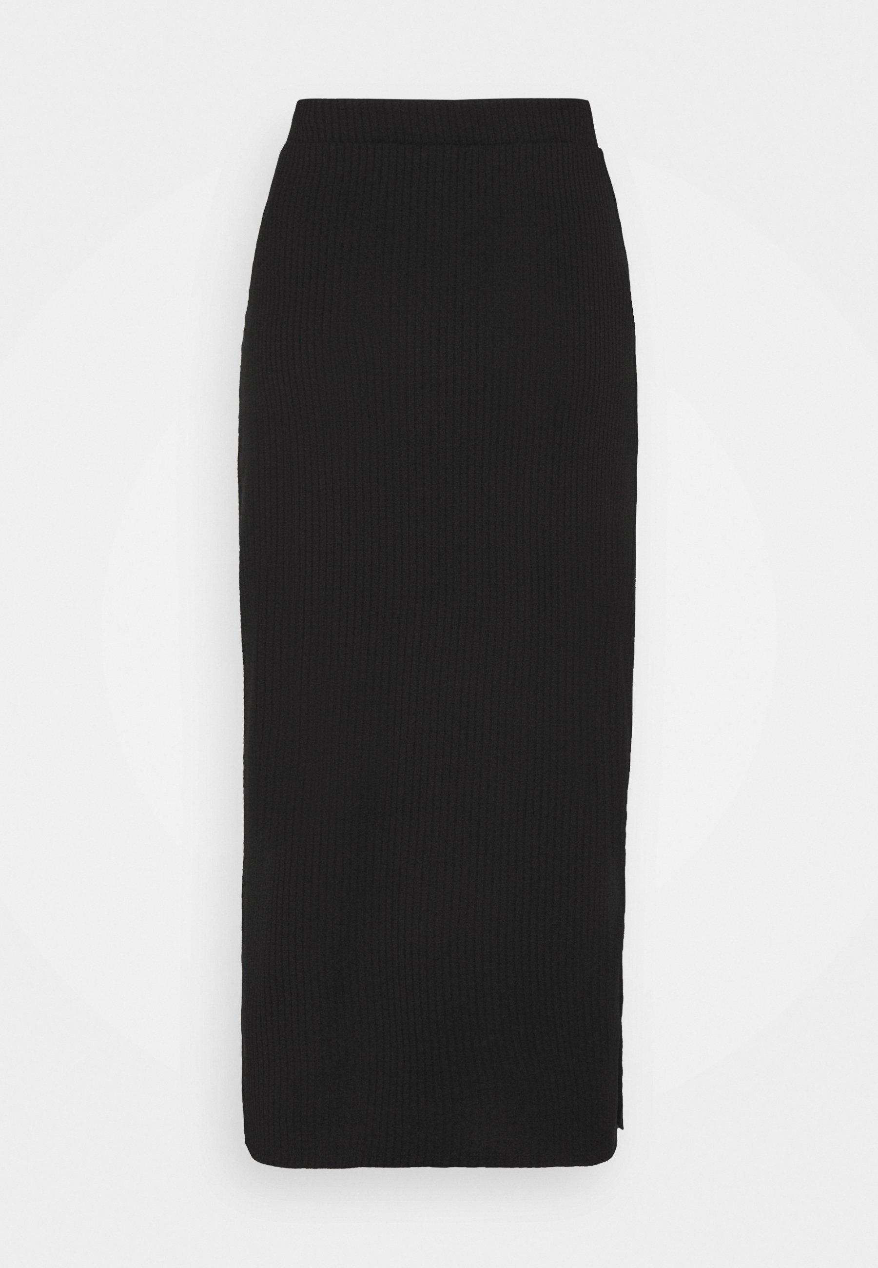 Femme VIRIBBI SLIT SKIRT - Jupe crayon