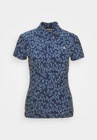 J.LINDEBERG - ALAYA GOLF - Print T-shirt - midnight/summer blue - 0
