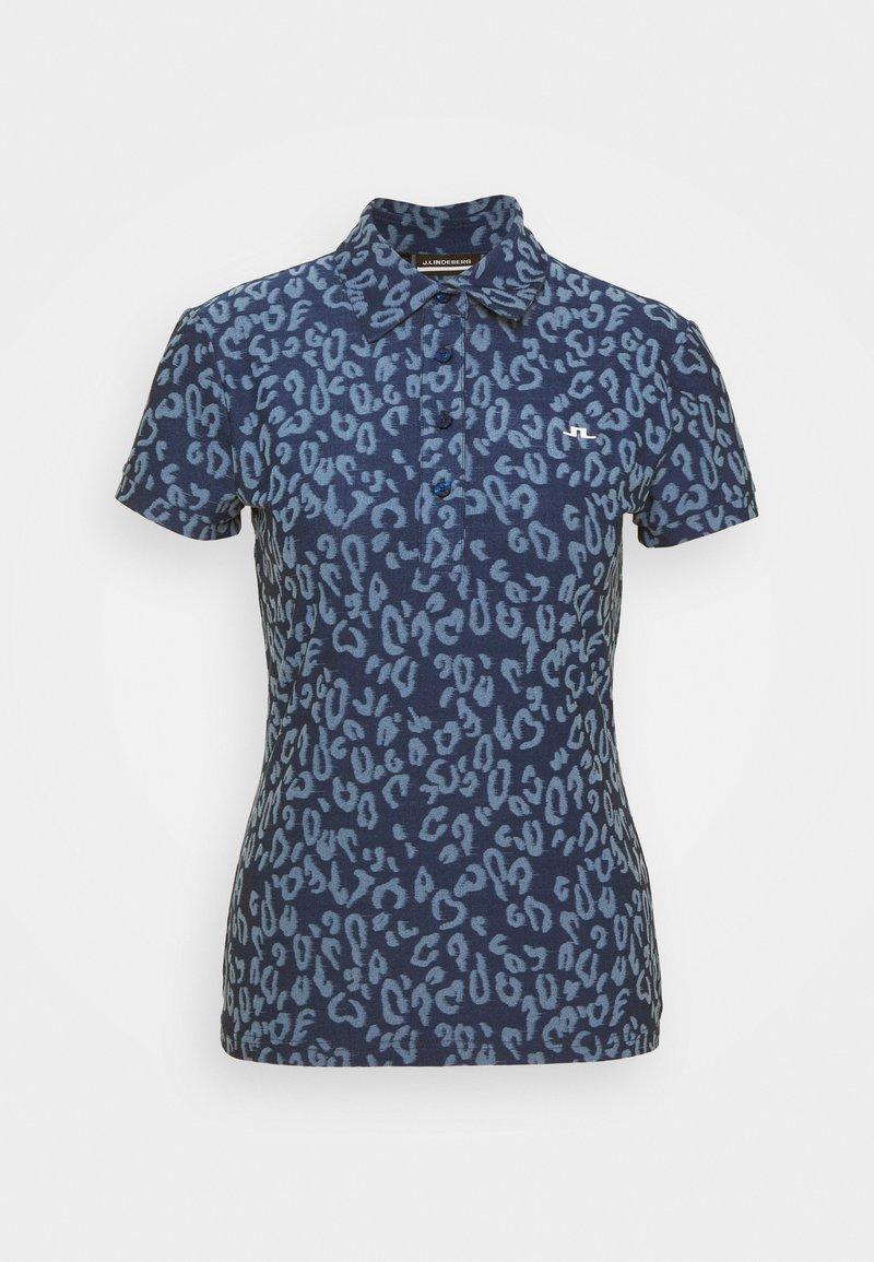 J.LINDEBERG - ALAYA GOLF - Print T-shirt - midnight/summer blue