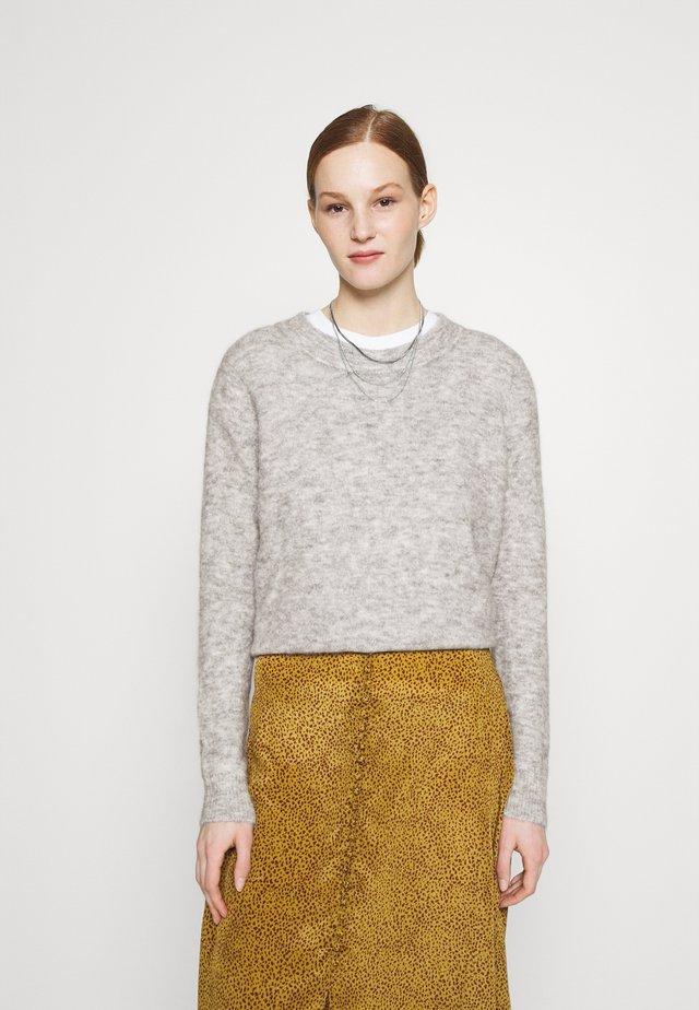 OBJNETE  - Sweter - light grey melange