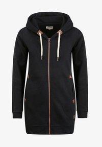 Oxmo - VICKY  - Zip-up hoodie - black - 5
