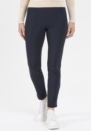 SCHMALE PULL-ON IN HIGHTEC - Trousers - dunkelblau