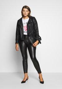 Dorothy Perkins Curve - CURVE  - Leggings - Trousers - black - 1