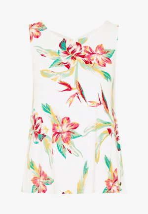 FINE WITH YOU PRINTED - Top - snow white tropic call