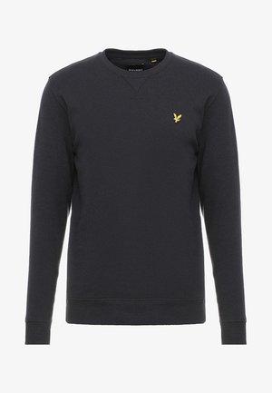 CREW NECK - Sweatshirt - true black