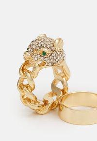 ALDO - KEDELALLA 3 PACK - Ring - clear/gold-coloured - 2
