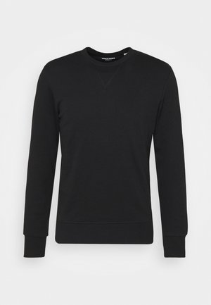 JJEBASIC CREW NECK - Collegepaita - black