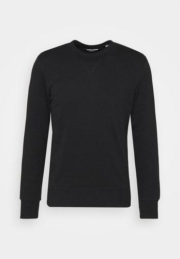 JJEBASIC CREW NECK - Sweatshirt - black