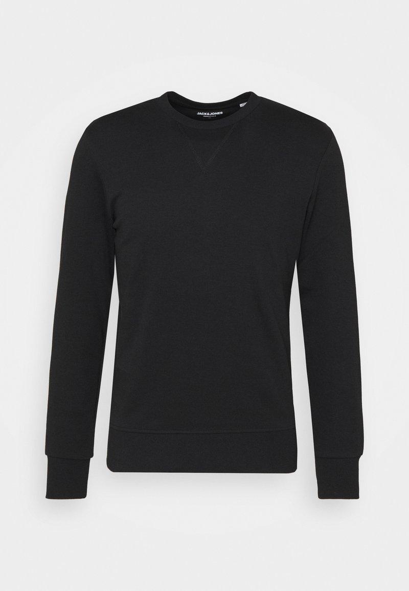 Jack & Jones - JJEBASIC CREW NECK - Sweatshirt - black