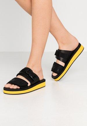 LYDIA SPORT  - Pantofle - black