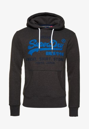 SHOP DUO HOOD - Hoodie - dark grey