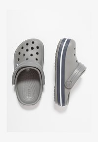 Crocs - CROCBAND - Pool slides - smoke/navy - 1