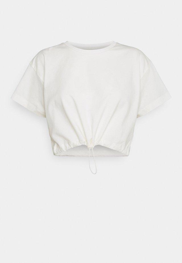 Pyjama top - cream