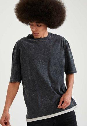 OVERSIZED - Print T-shirt - anthracite