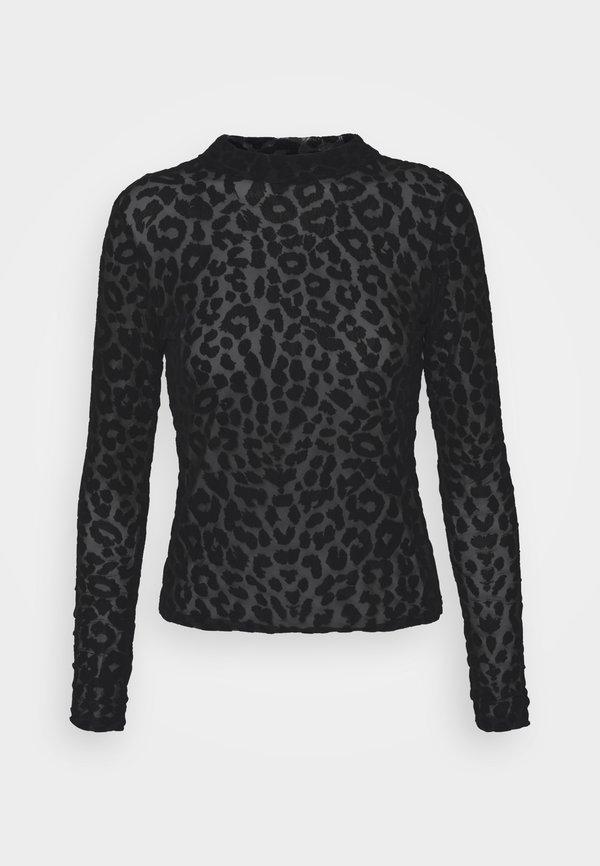 New Look ANIMAL - Bluzka - black/czarny OZVD