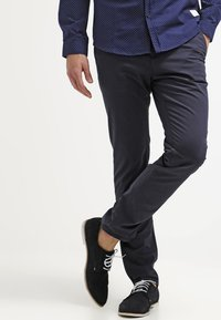 Tommy Hilfiger - DENTON - Chinosy - midnight - 0