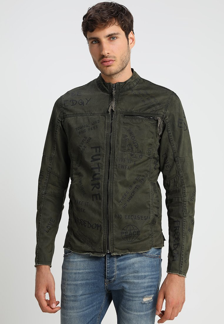Be Edgy - BE THEO EDD - Summer jacket - khaki