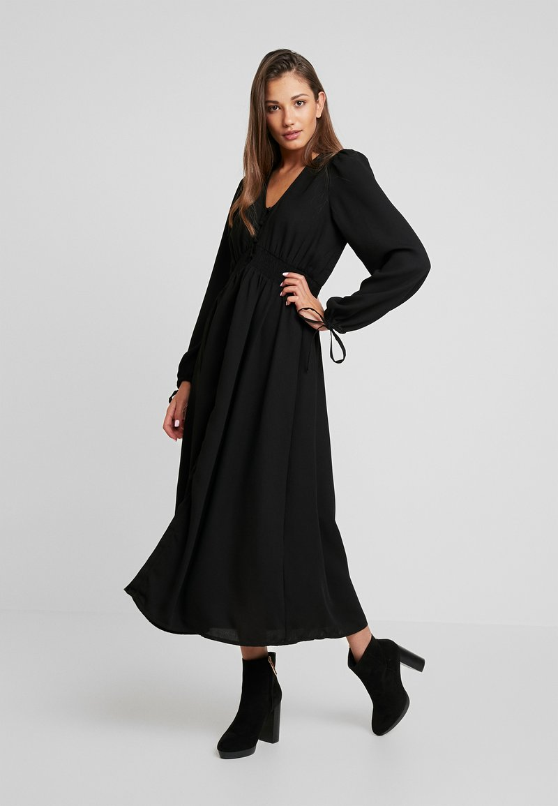 Vero Moda - VMEDDA DRESS - Robe chemise - black
