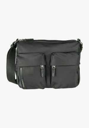 HUNTER CROSSOVER VCT18 - Across body bag - black