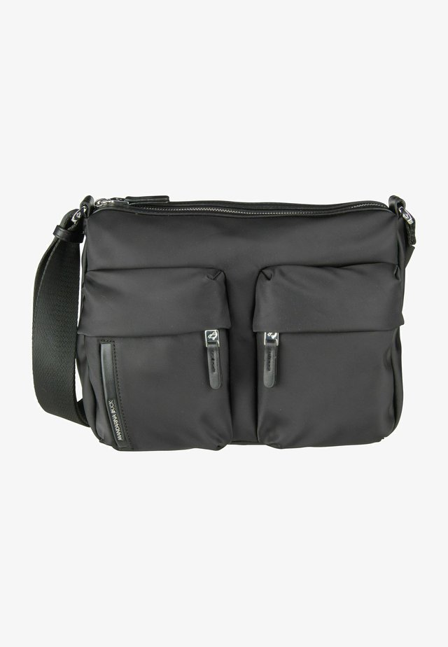 HUNTER - Sac bandoulière - black