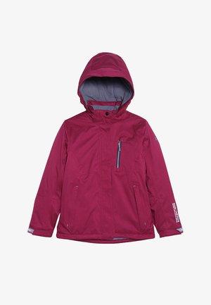 HELINA  - Winter jacket - dunkel himbeere
