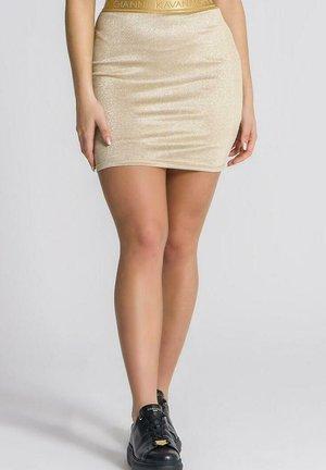 Pencil skirt - gold