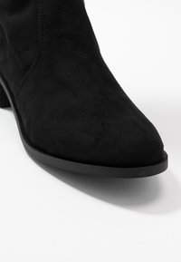 Dorothy Perkins - TRALLALA TIE BACK LONG STRETCH BOOT - Kozačky nad kolena - black - 2