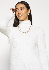 Superdry - CROYDE CABLE ROLL NECK - Jumper - winter white - 3