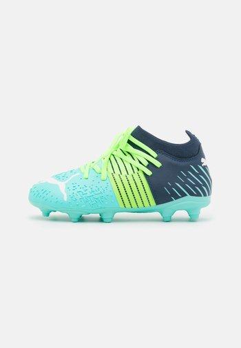 FUTURE Z 3.2 FG/AG JR UNISEX - Moulded stud football boots - green glare/elektro aqua/spellbound