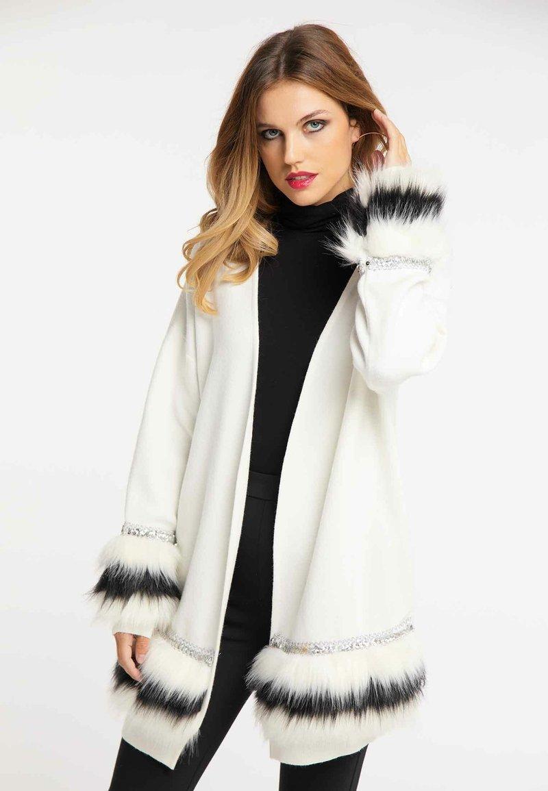 faina - Cardigan - white