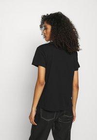 AllSaints - DROPOUT MIC - Print T-shirt - black - 2