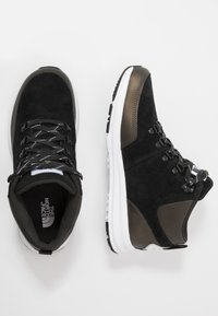 The North Face - Hiking shoes - black/white - 1