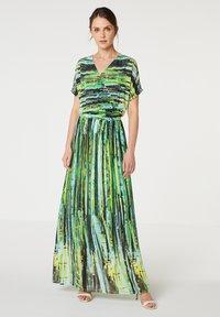 Paz Torras - Maxi dress - verde - 0