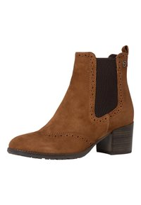 Tamaris - CHELSEA - Classic ankle boots - cognac - 4
