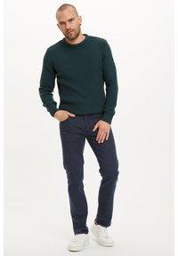 DeFacto - Stickad tröja - green - 1