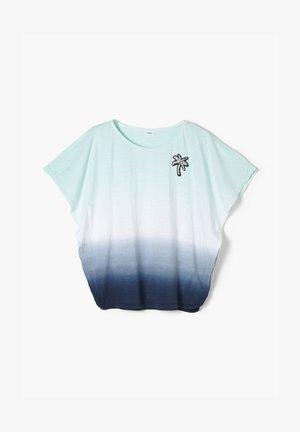 Print T-shirt - dark blue gradient