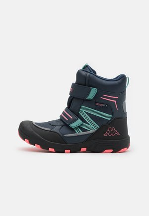 TEX UNISEX - Winter boots - navy/pink