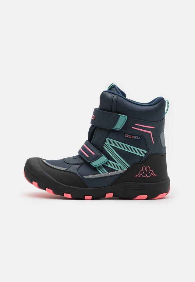 TEX UNISEX - Śniegowce - navy/pink